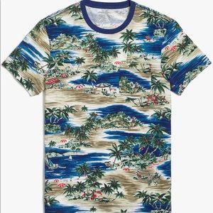 J Crew Mercantile Beach Scene T Shirt